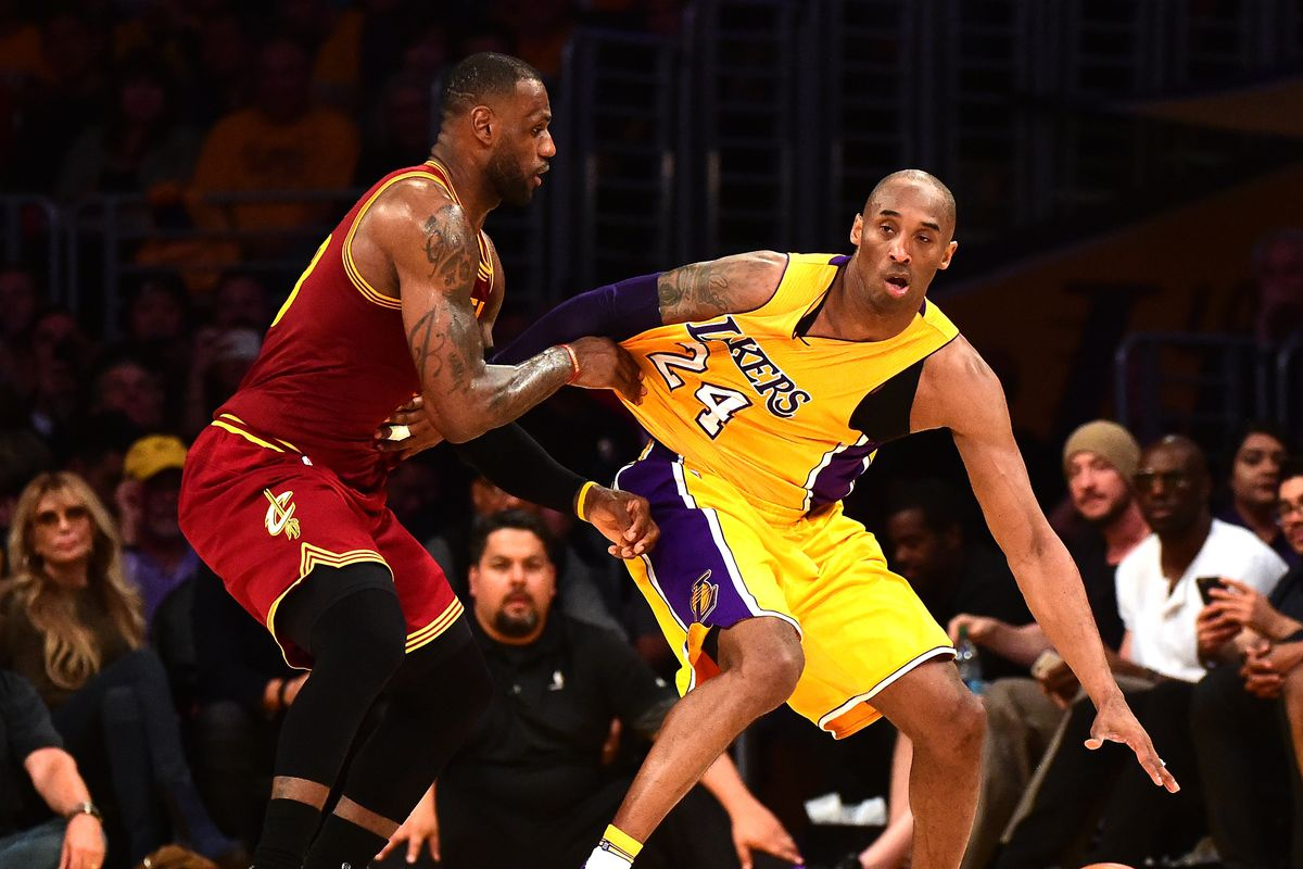buy popular 3470b d7684 Lakers News  Kobe Bryant says LeBron James has  evolved his game  in the  playoffs, explains how he d guard him