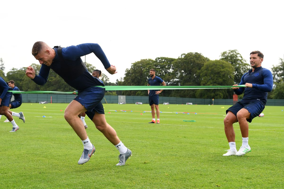 Chelsea Pre-Season Training Session