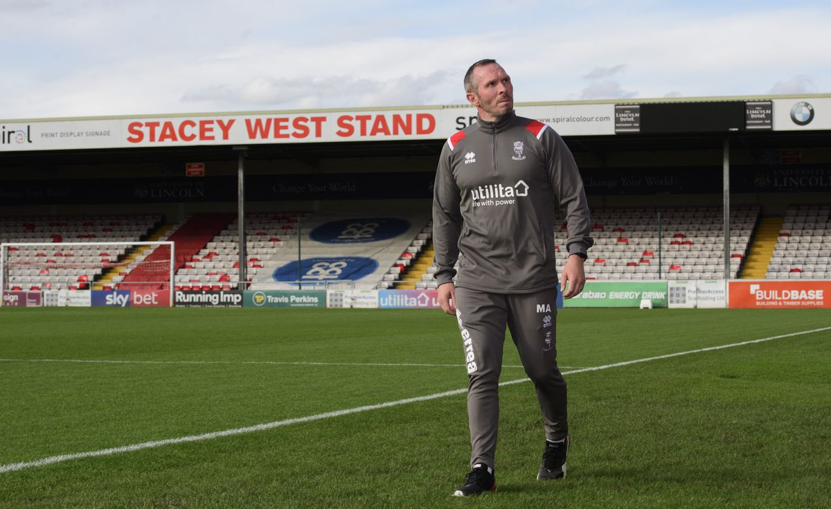 Lincoln City New Manager Michael Appleton Press Conference