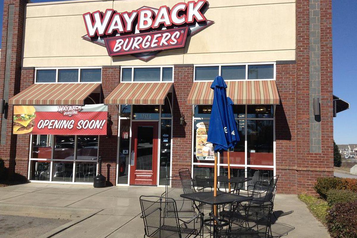Wayback Burgers South Carolina location