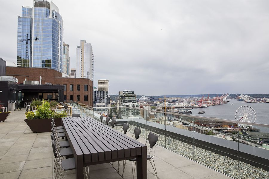 Spy On The Puget Sound At Rooftop Bar The Nest Eater Seattle