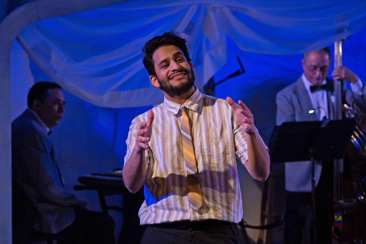 "Marvin Quijada plays Carpacho in Teatro Vista's ""La Havana Madrid,"" at The 1700 Theater at Steppenwolf. (Photo: Joel Maisonet)"