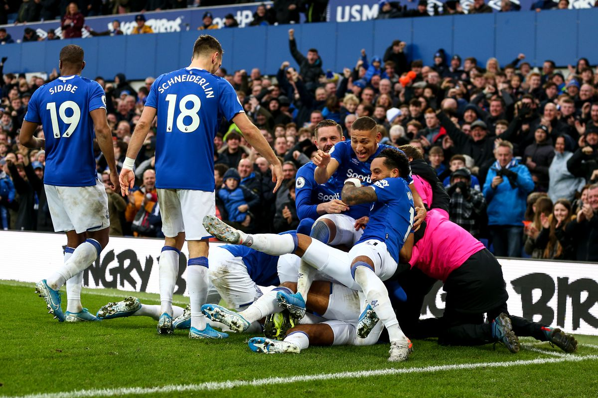 Everton 3 1 Chelsea Instant Reaction Fight Royal Blue Mersey