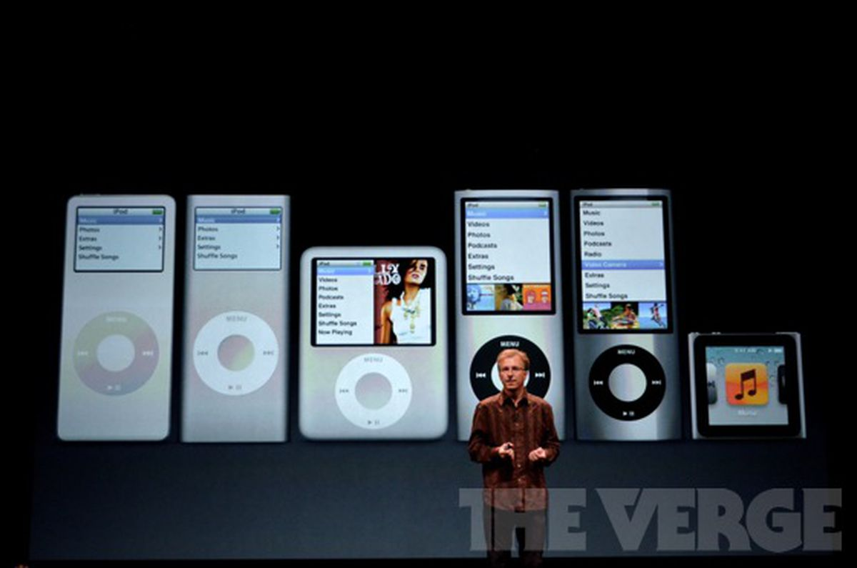apple confirms ipod nano and ipod shuffle have been. Black Bedroom Furniture Sets. Home Design Ideas