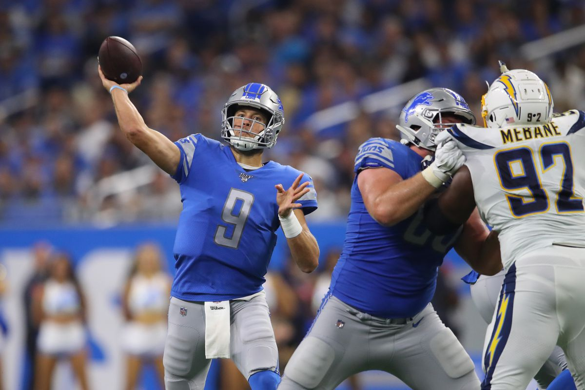 Los Angeles Chargers vDetroit Lions