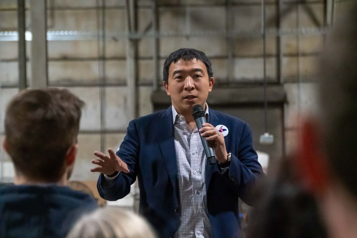 Presidential candidate andrew yang has a meme problem