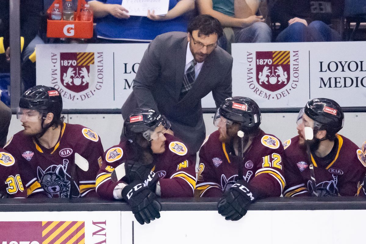 AHL: JUN 06 Calder Cup Final - Charlotte Checkers at Chicago Wolves