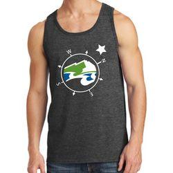 "<a href=""http://www.gamedaydepot.com/the-sounder-at-heart-compass-star-t-shirt"">Enlarged compass rose </a>tank top (select on garment option)"