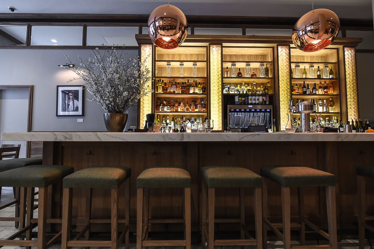 [The bar at The Gander on West 18th Street]