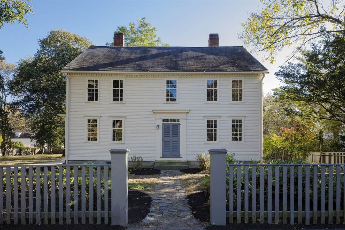 Colonial gem with potential to sparkle wants 15M Curbed