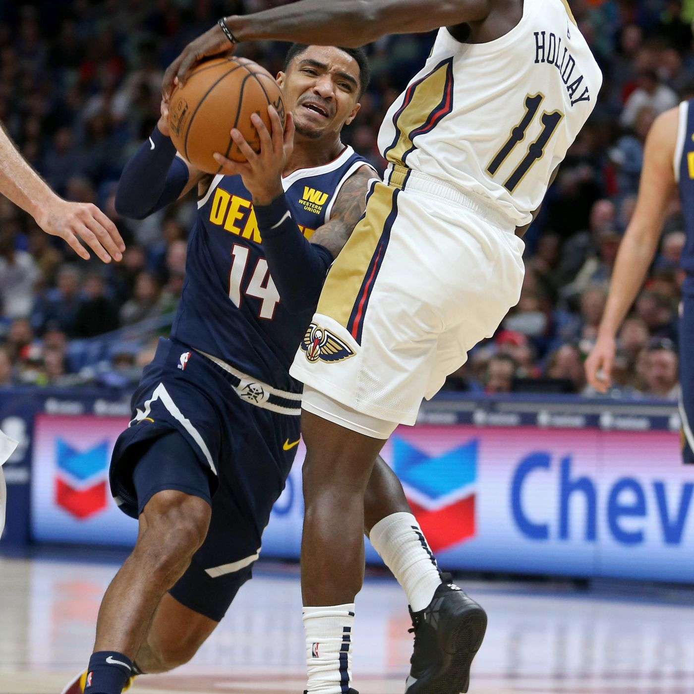 6f52fc68caa5 Jrue Holiday is cold-blooded monster who could help propel New Orleans  Pelicans to best season ever - The Bird Writes