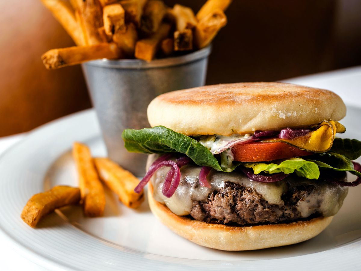 The Spruce burger