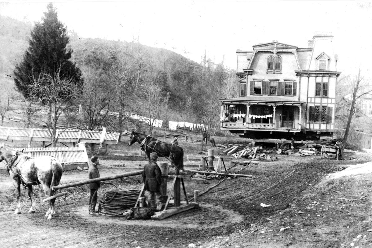 How katonah was moved for new york city 39 s water system for Moving from new york