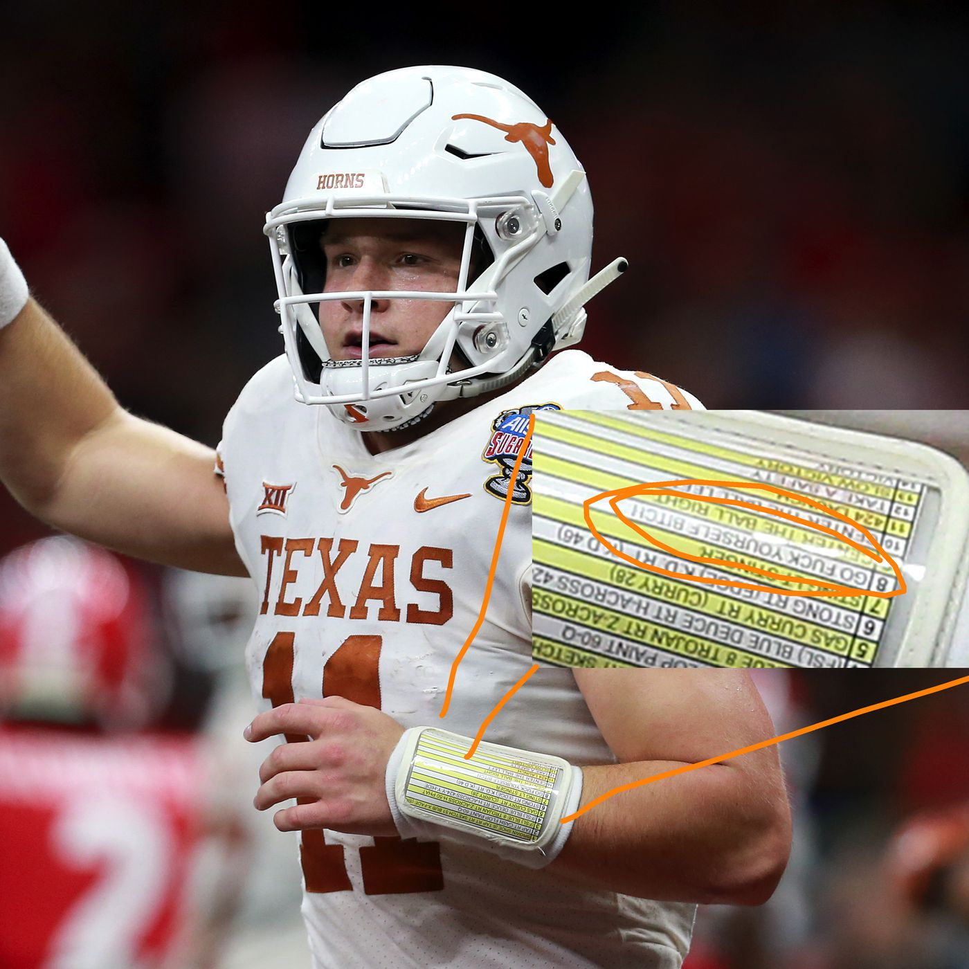 the latest e333a a2fae Is this why Texas had a play called 'GO F*** YOURSELF B ...
