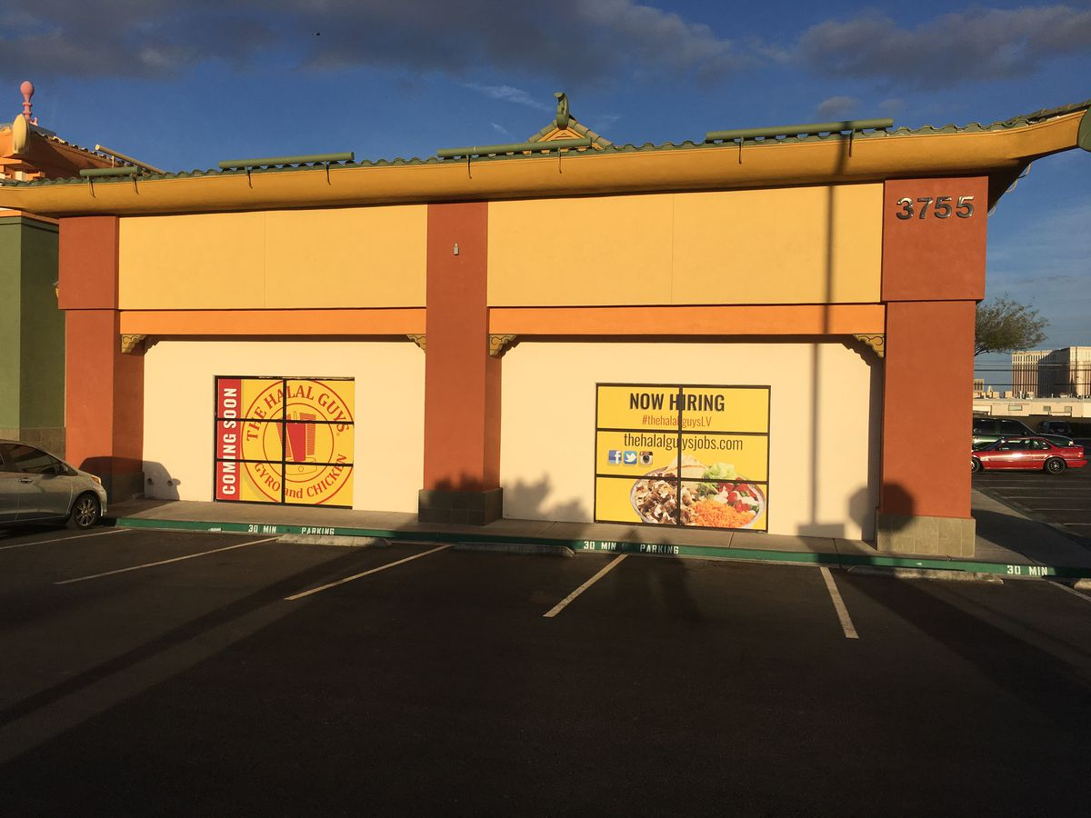 The future home of Halal Guys