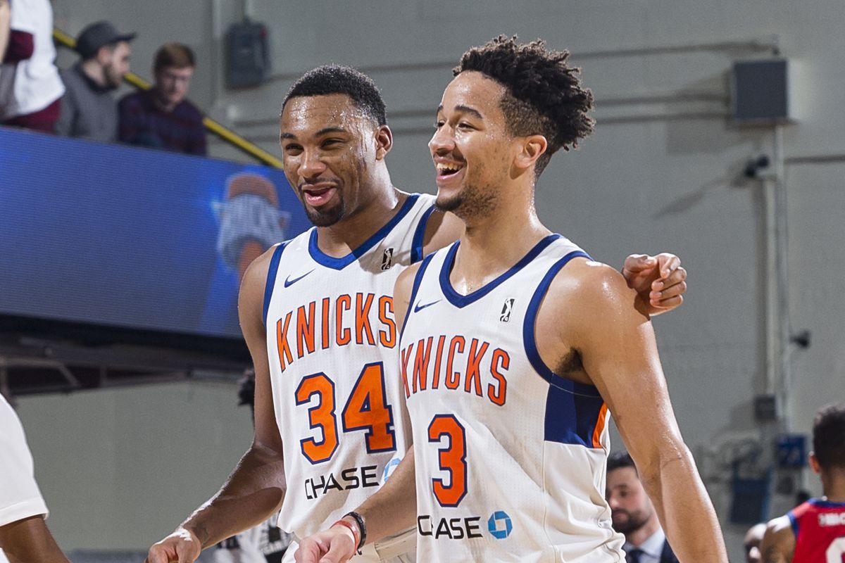 Delaware 87ers v Westchester Knicks