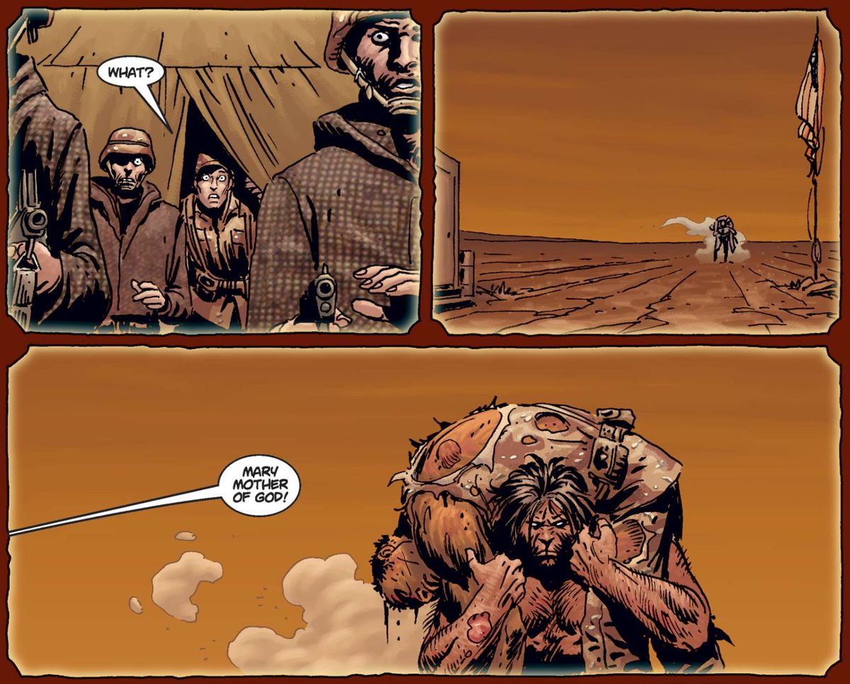 終極X戰警#11,漫威漫畫(2001)。