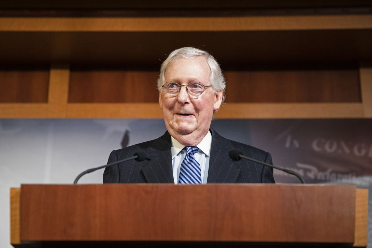Senate Votes On Final Verdict In Impeachment Trial Of President Donald Trump
