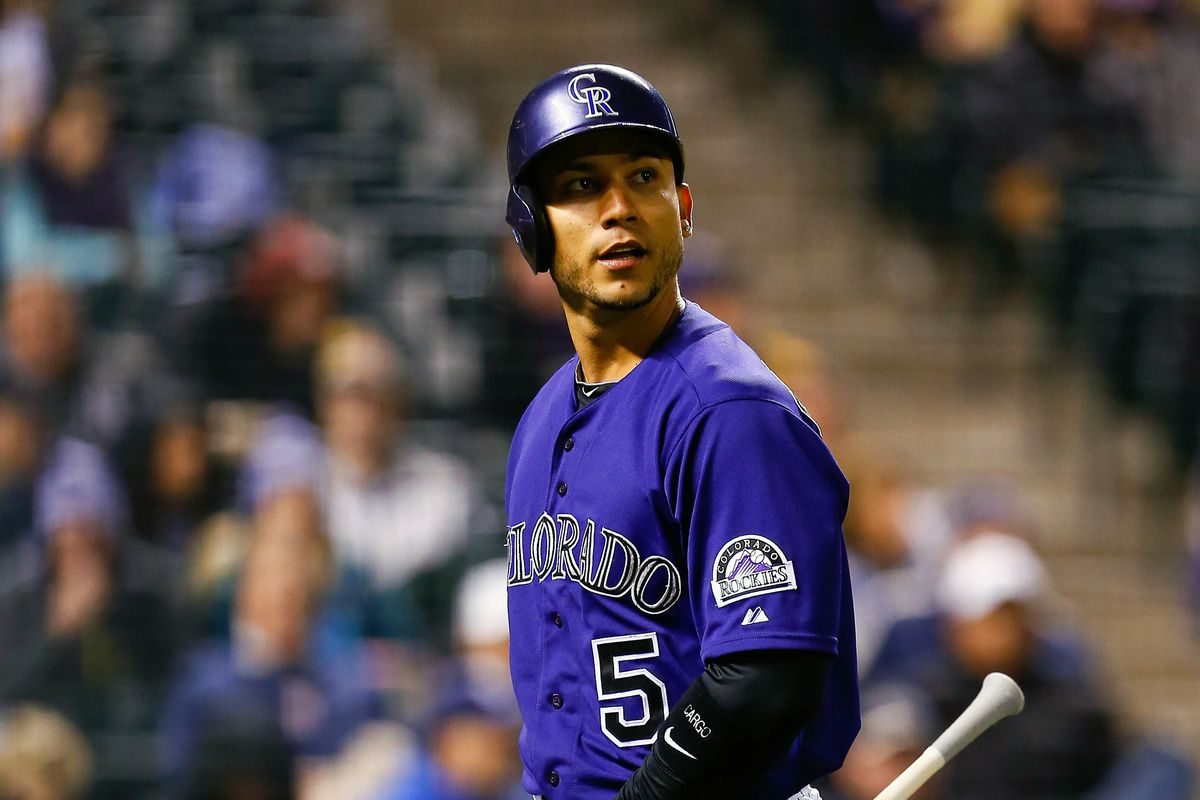 Will Carlos Gonzalez be a dead weight on building the Rockies roster going forward?