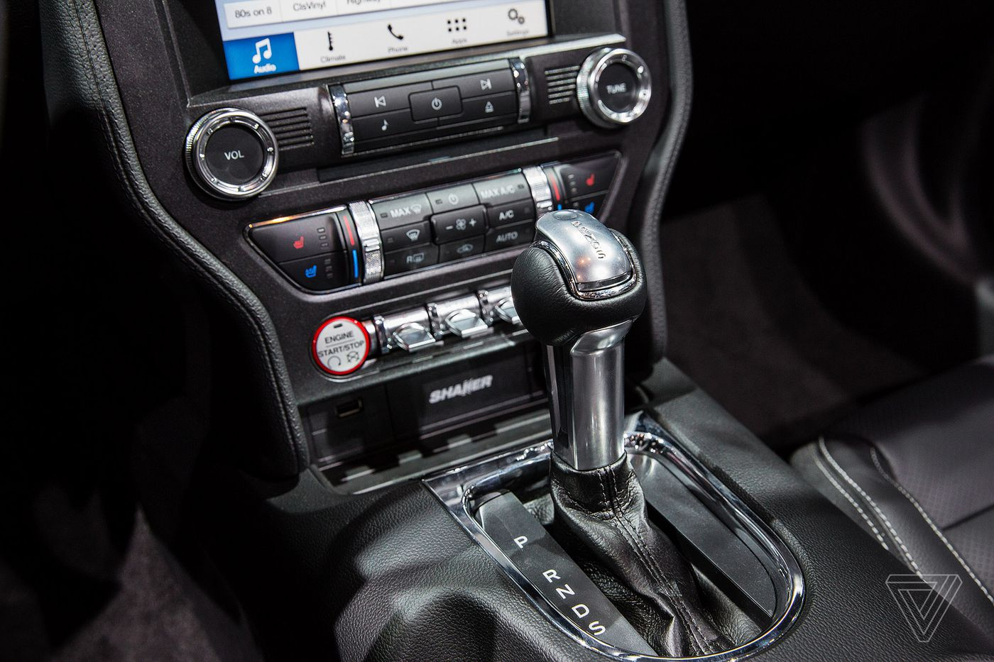Here Are All The Wacky Gear Shifters From New York Auto Show Verge