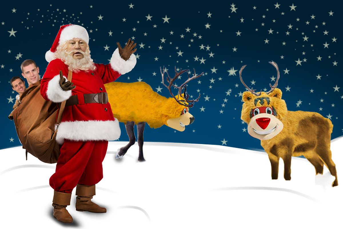 Minnesota Wild Christmas cards - Hockey Wilderness