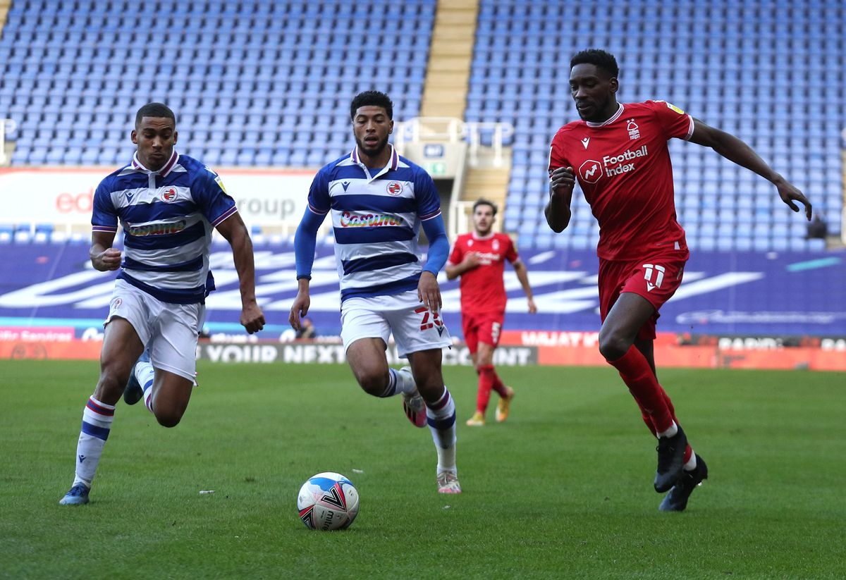 Reading v Nottingham Forest - Sky Bet Championship - Madejski Stadium