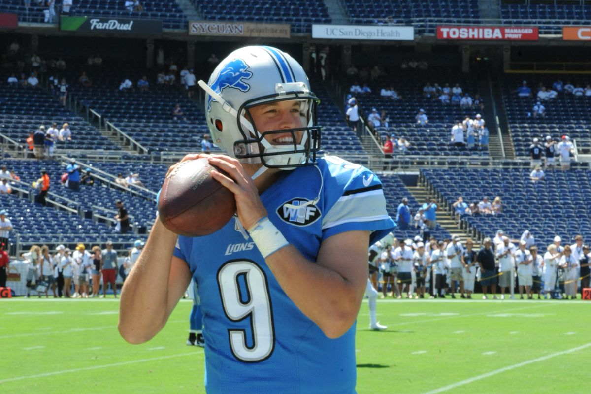 NFL: SEP 13 Lions at Chargers