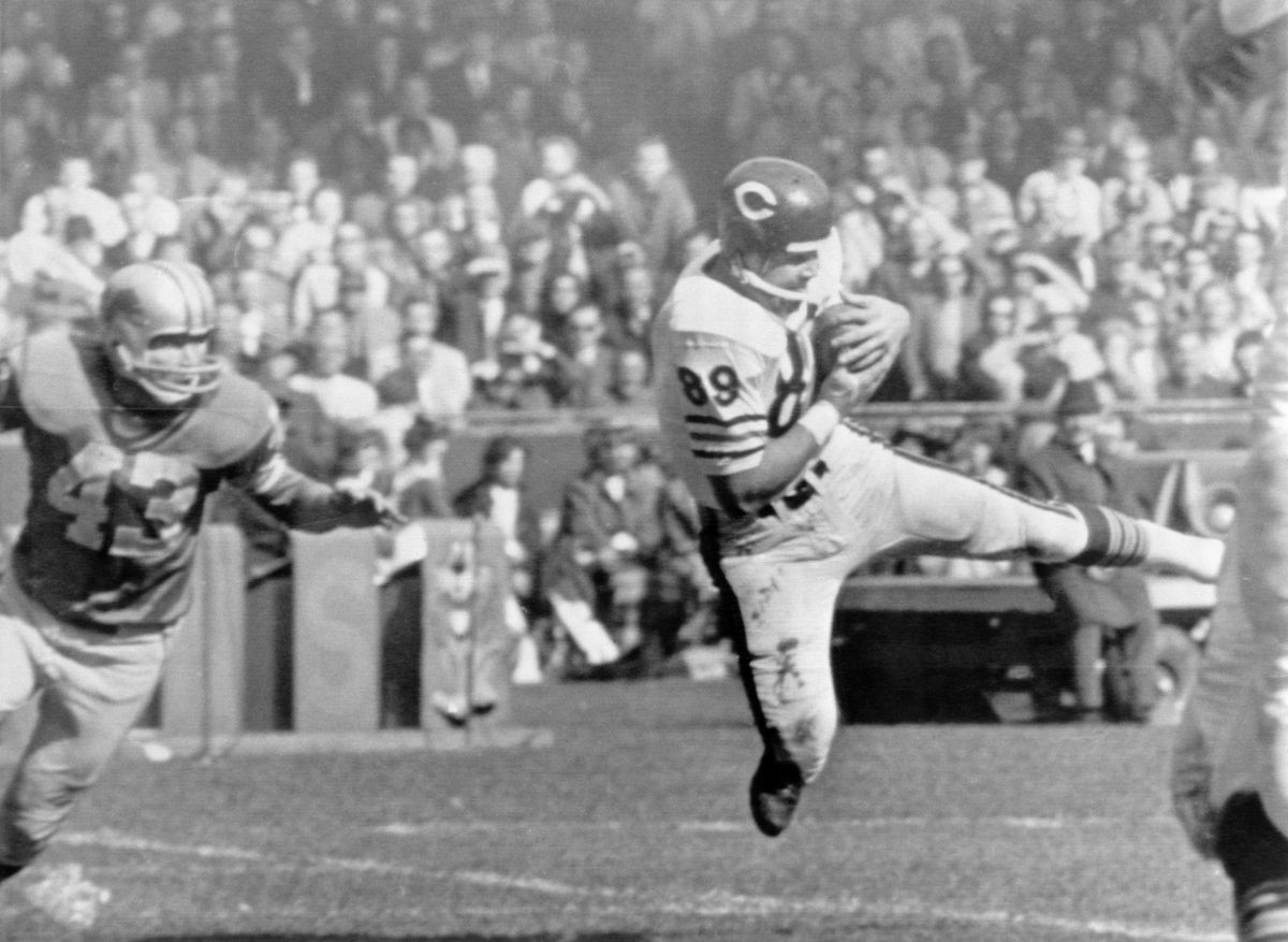 Mike Ditka Running with Ball