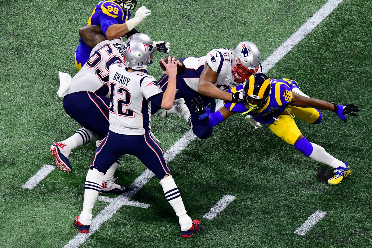 cheap for discount 92ca4 4611f Super Bowl 53 Patriots vs Rams game report  Patriots offense wakes up in  fourth quarter to win with 13-3 final score. New ...