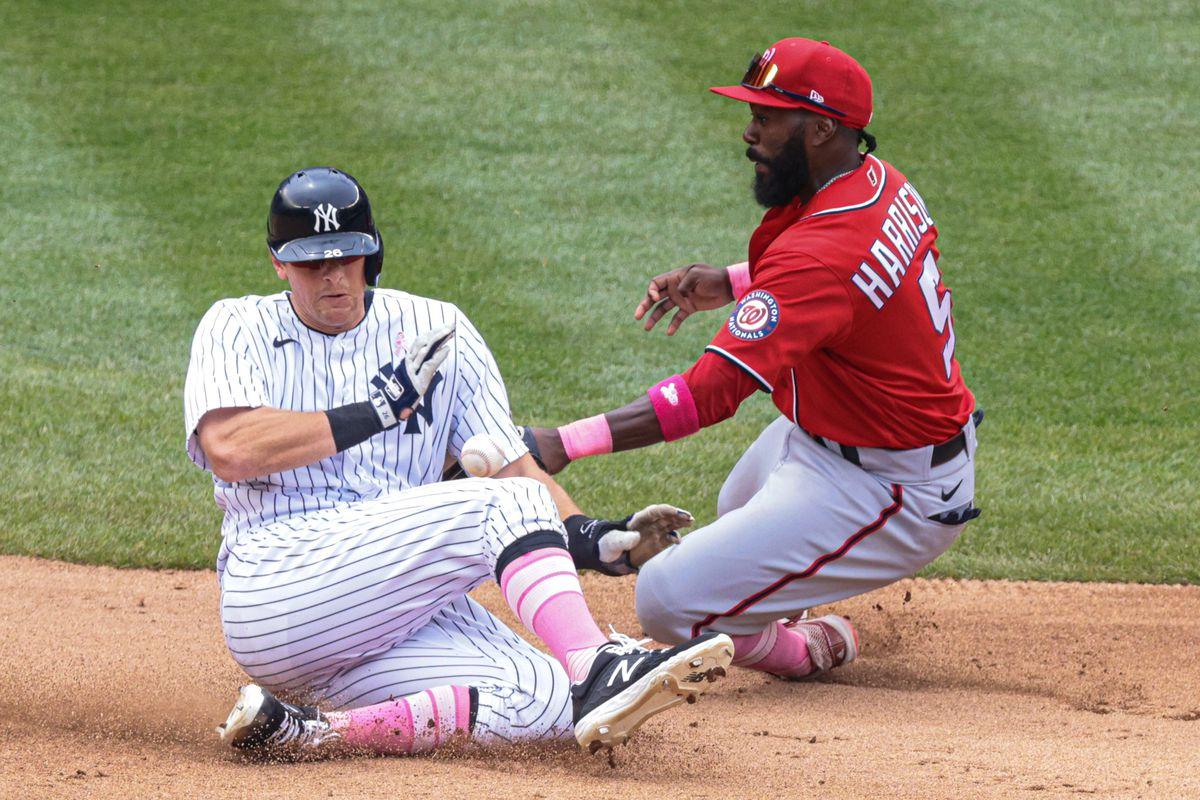 MLB: Washington Nationals at New York Yankees