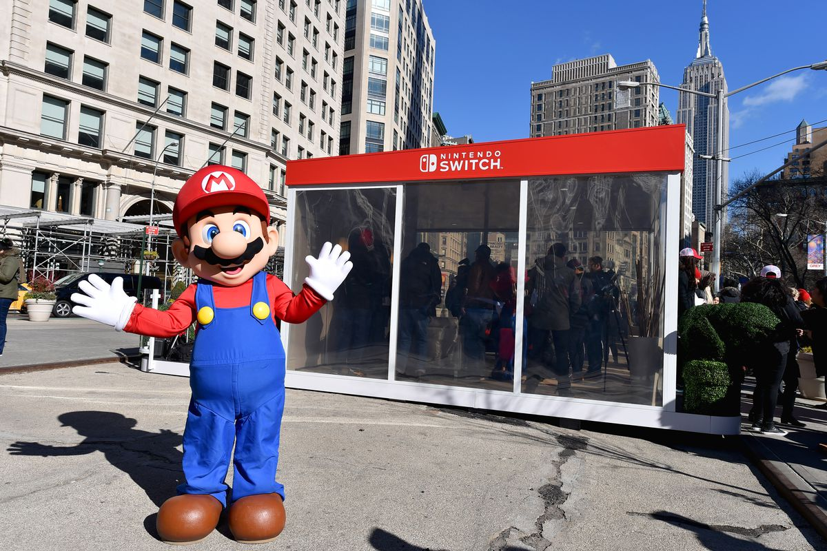 nintendo switch booth
