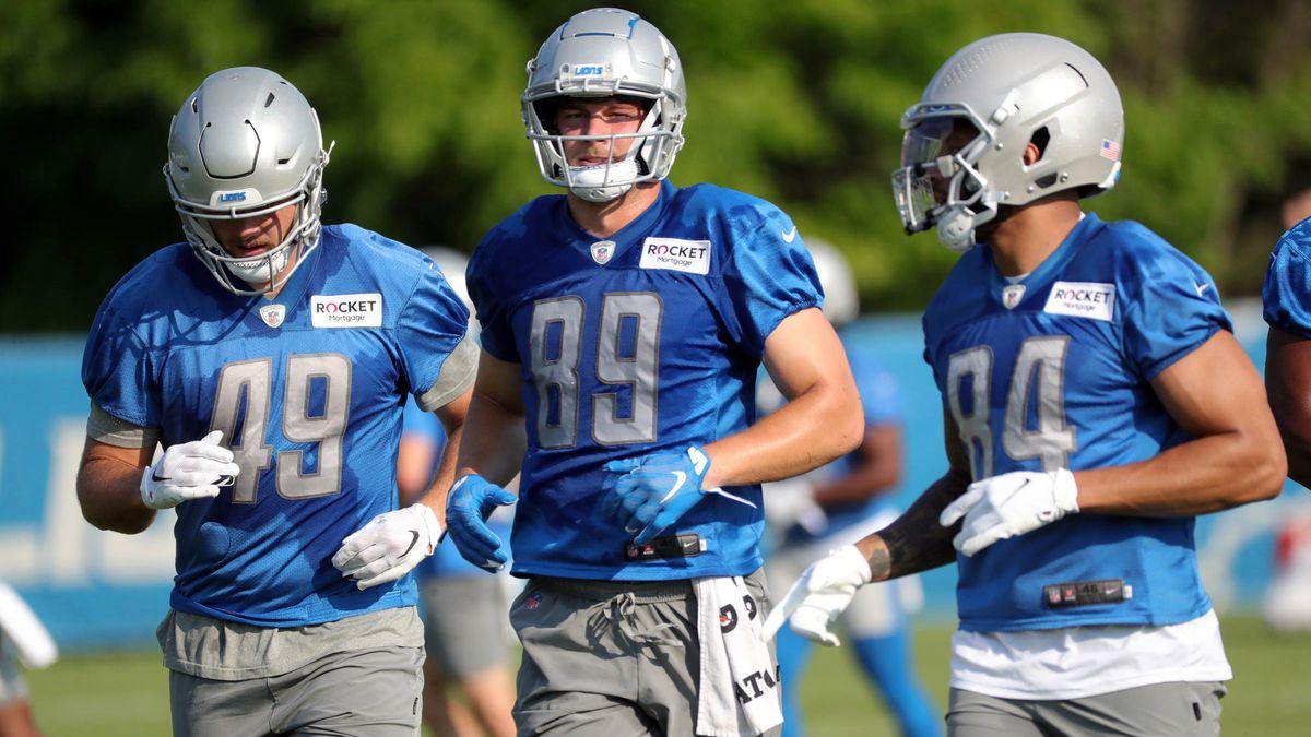 NFL: Detroit Lions Training Camp