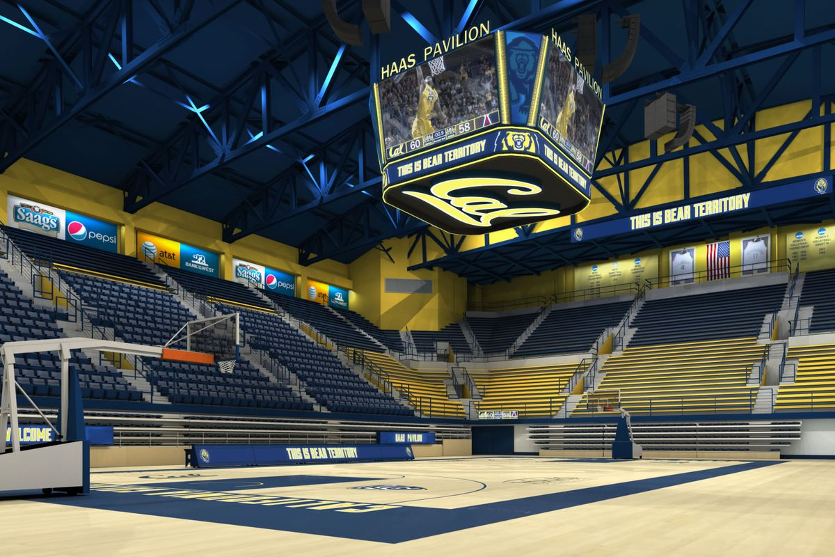 Haas Pavilion gets an upgrade!
