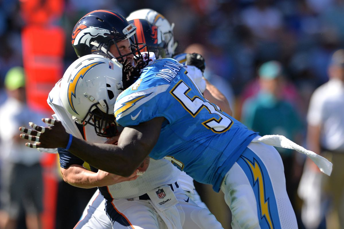 Chargers Edge Duo Leaves Little Time For Opposing Qbs Via
