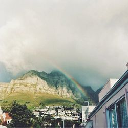 """""""A perfect rainbow while sitting at Camps Bay hot Spot Cafe Caprice."""""""