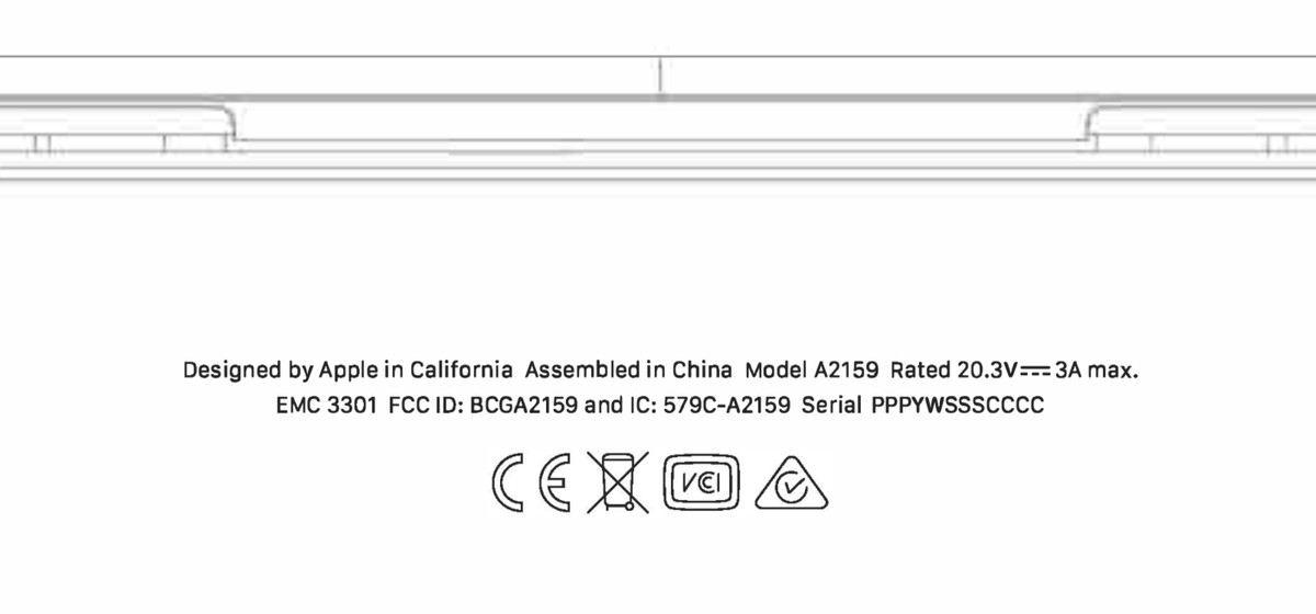 FCC basically confirms Apple will update the base MacBook Pro model 2