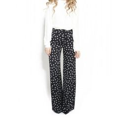 "<b>10 Crosby Derek Lam</b> Yarn Print Pant in black, <a href=""http://otteny.com/catalog/clothing/pants/yarn-print-pant.html"">$425</a> at Otte"