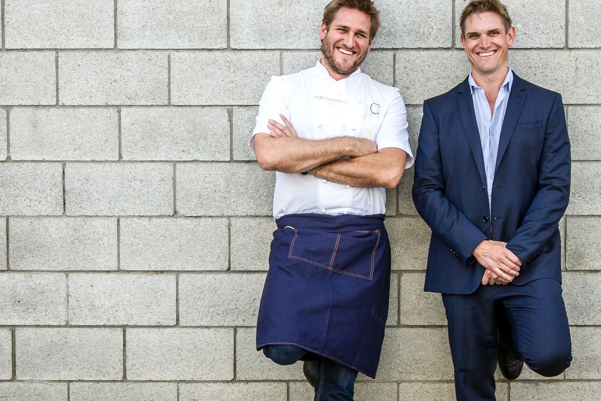 Curtis Stone and brother Luke Stone