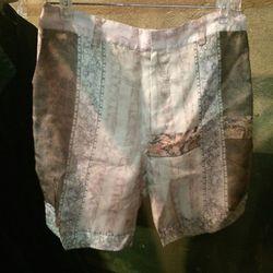 Printed shorts, $50