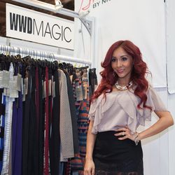 <em>Jersey Shore</em>'s Snooki launched her collection, SnookiLove by Nicole Polizzi. Photo: MAGIC Market Week