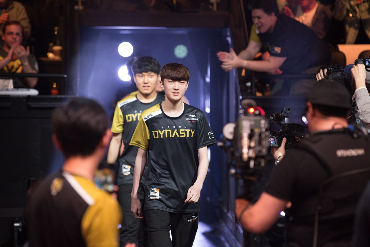 Seoul Dynasty releases a special K-pop walk-on song for OWL