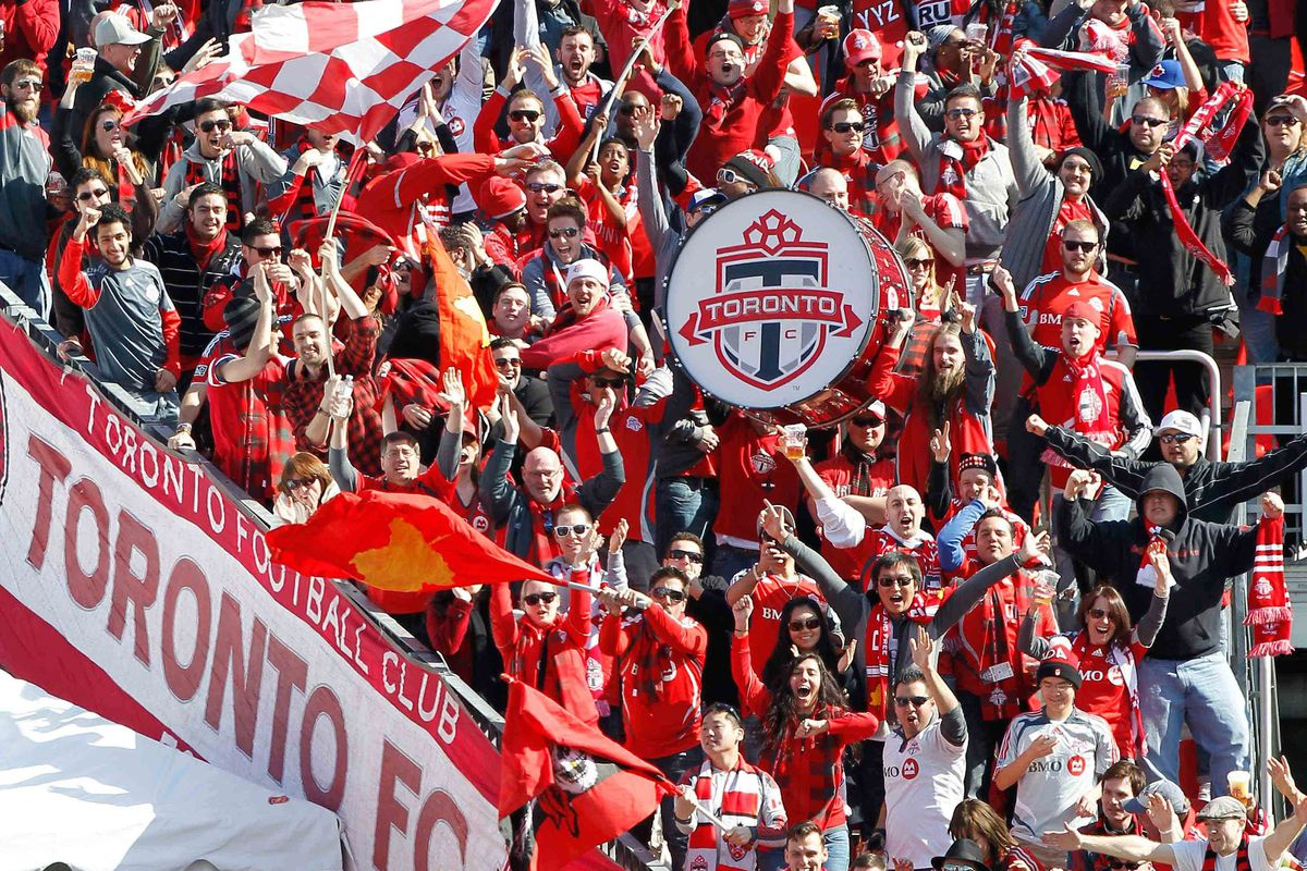 TFC fans will have a lot of this to do in April.