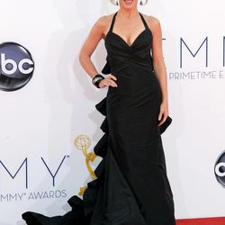 Kathy Griffin arrives at the 64th Primetime Emmy Awards at the Nokia Theatre on Sunday, Sept. 23, 2012, in Los Angeles.