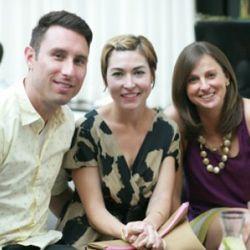 Eric Obrein, Meredith Obrein, Meg Robinson