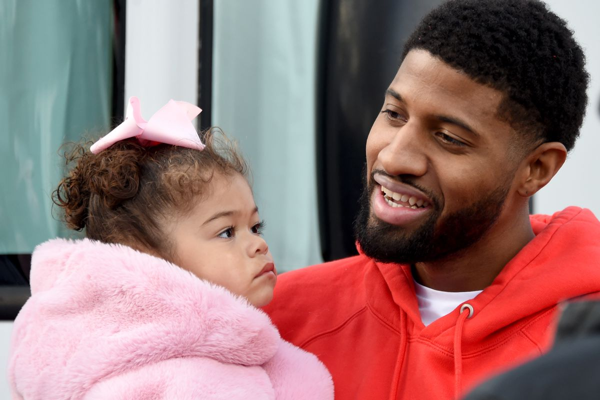 Los Angeles Clippers' Paul George Court Dedication