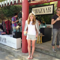 The stylish curator of Harper's Bazaar's brilliant shopBAZAAR pop-up at the Parker Palm Springs.