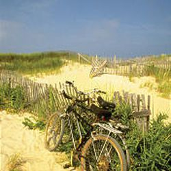 Bicycling is a convenient and fun way to travel around Cape Cod.