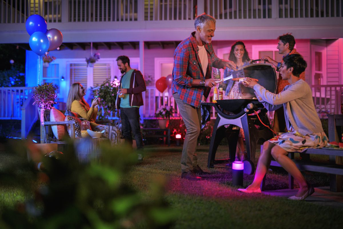 Philips Hue Brings Its Smart Light Bulbs Outdoors Curbed