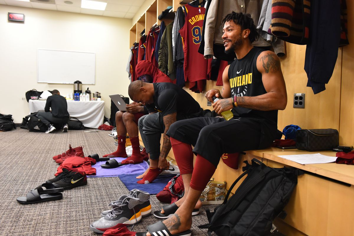 2a9f91534727 Derrick Rose could return on the Cavs  road trip - Fear The Sword