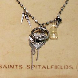 A featured necklace.